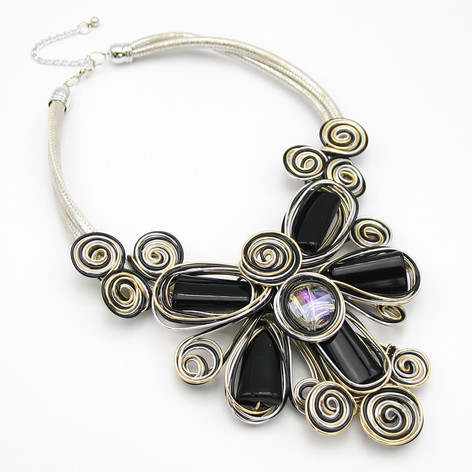 SOLD OUT Black Resin Flower $20