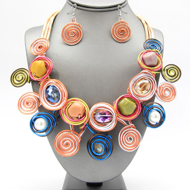 SOLD OUT Multi Wire Collar $20