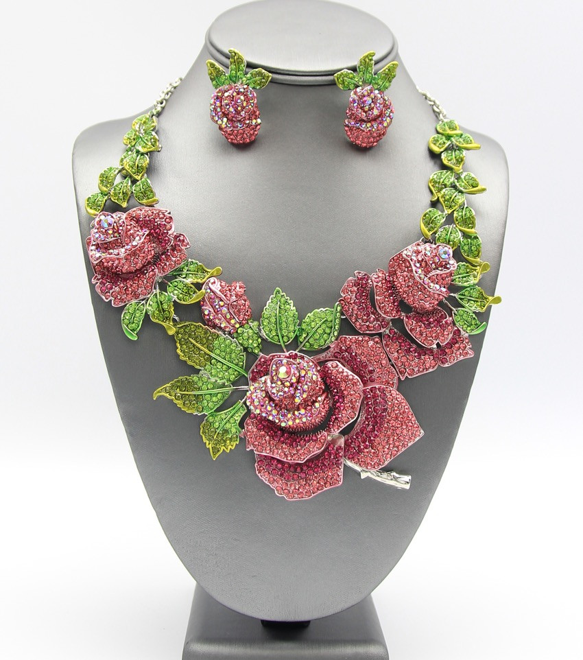 SOLD OUT Pave Fushica Rose $40