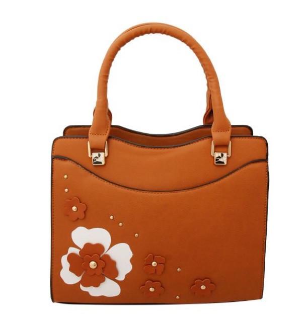 Camel Foral Bag $40