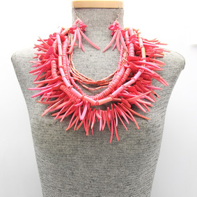Pink Multi Strand $15