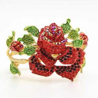 Crystal Red Rose $20