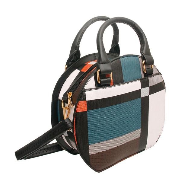 Black Round Bag Set $30