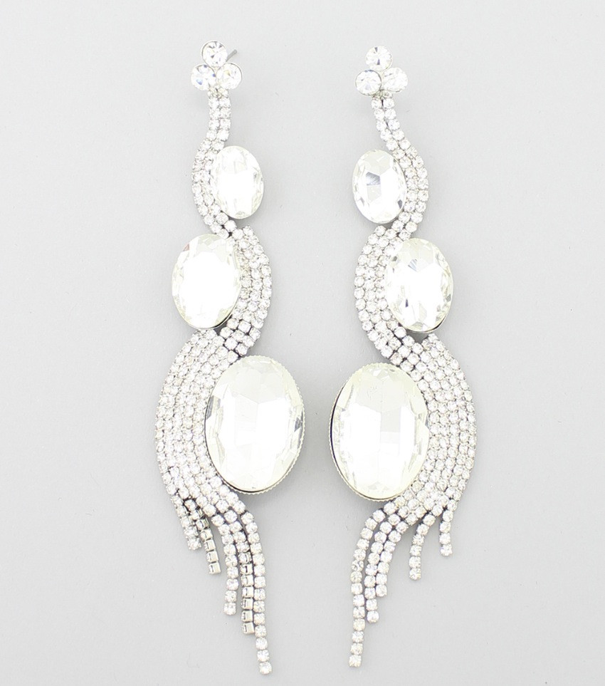 Clear & Silver $18