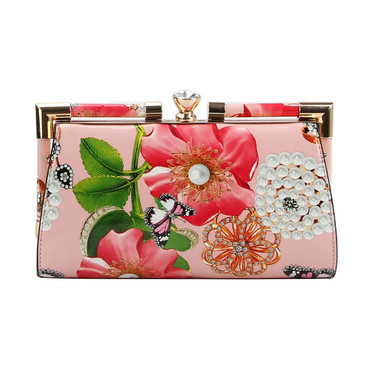 Pink Foral Kiss $30