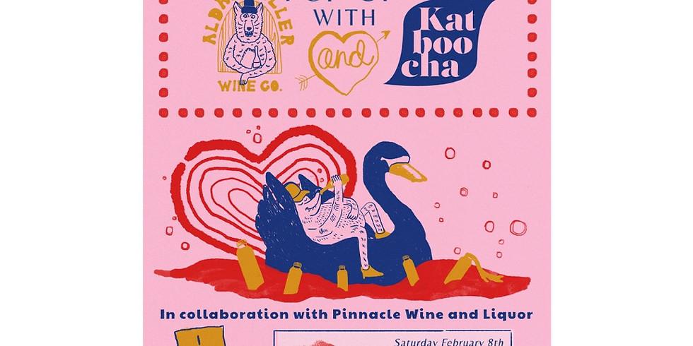 Super Sexy Wine and Kombucha Pop Up with Aldaskeller Wine Co. and Katboocha