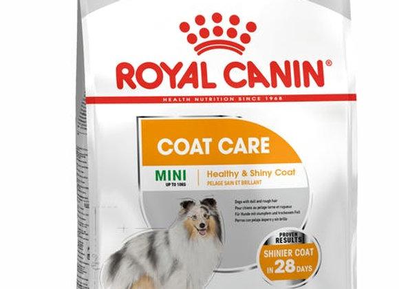 ROYAL CANIN MINI COAT CARE DOG FOOD 3KG