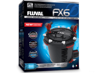 Fluval FX6 Canister Filter (1500L, 3500L/h)