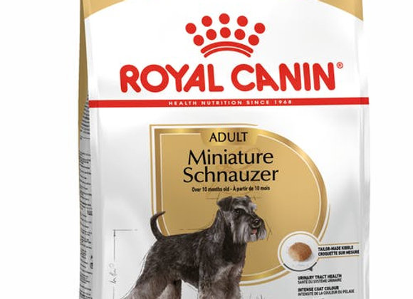 ROYAL CANIN MINIATURE SCHNAUZER DOG FOOD 3KG