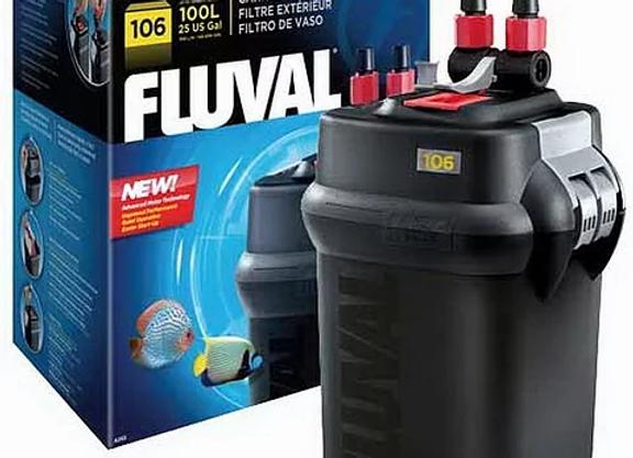 Fluval 106 external filter review