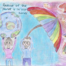 Rescue of  the  planet is  in jur  hands