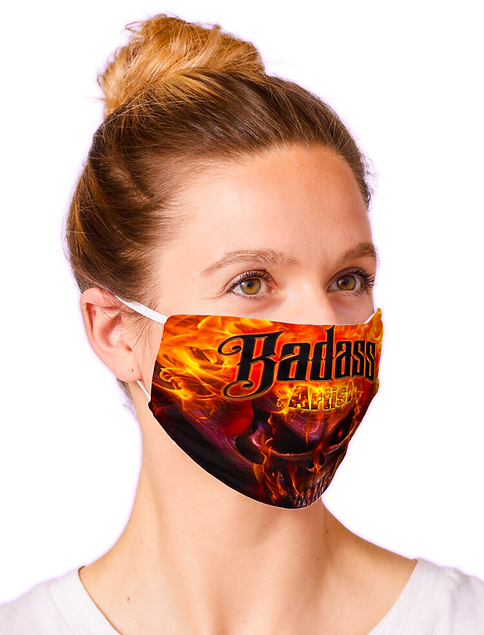 Adults Cotton Safety Mask by OrganicBeej