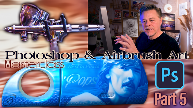 Photoshop nd Airbrush Masterclass with OrganicBeej