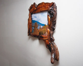 rustic handmade unique wooden frame 8x10