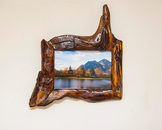unique 5x7 rustic handcrafted wooden frame