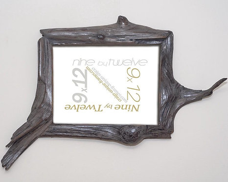 Driftwood 9x12 Picture Frame Unusual Wood Photo Frame