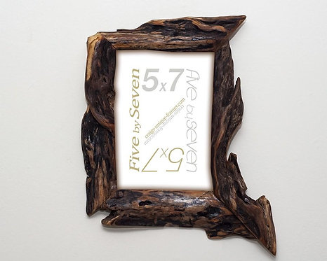 5x7 Willow Wood Picture Frame Live Edge Photo Frame