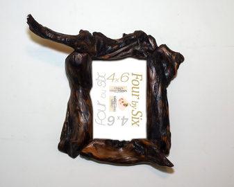 unique wood picture frames brown wood 4x6