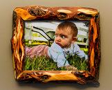 unique-wood-picture-frames-8x10 brown