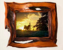 unique-wood-picture-frames-brown-unique