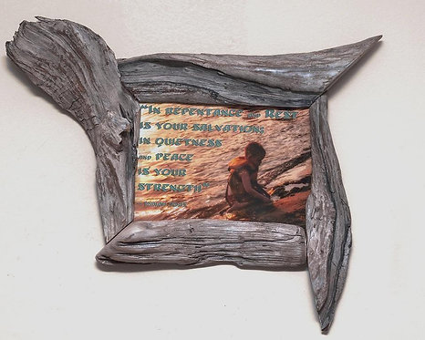 5x7 Driftwood Frame, Unique Picture Frames 5x7, Natural Wood