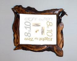 unique wooden picture frames 8x10 willow