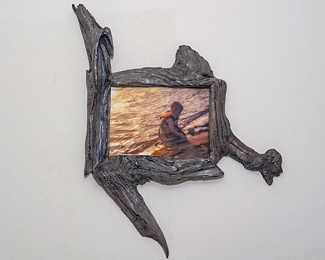Handcrafted Picture Frame 5x7 Drift Wood Photo Frame