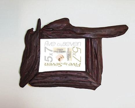 Unique Drift Wood Frame 5x7