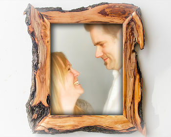 11x14 willow frame, Handmade Wooden wall decor, unique wood picture frame, dark brown wooden picture frame, beautiful handcrafted wood frames, unique family portrait frame, unique handmade wood frames, unique live edge frames, unusual handcrafted frames,live edge frame 5x7, unique custom picture frames, recycled wood photo frame 11x14