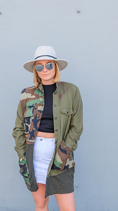 Modern Camouflage Duster