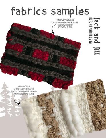 """Jack and Jill"" Fabric Samples"