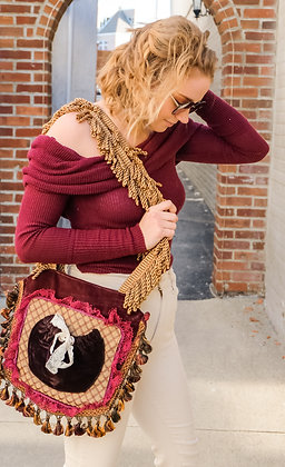 Cassandra Tapestry Bag