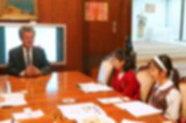 Ambassador Mr. Farhad Khlif  Keito  Madoka  Haruka  Karen
