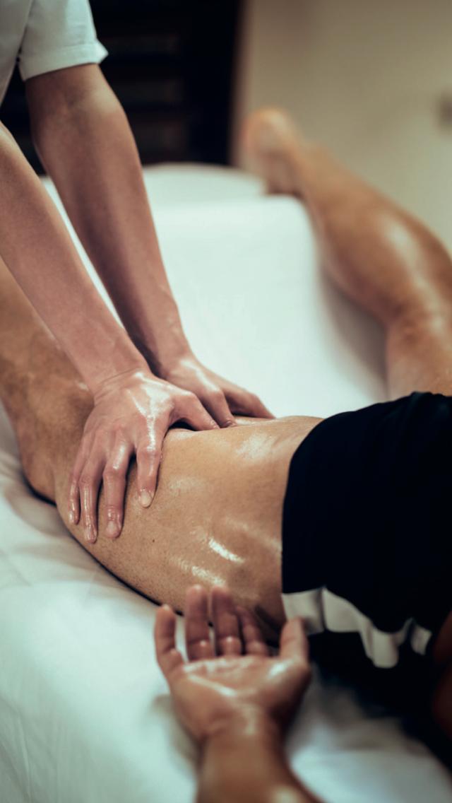 Fysiurgisk massage børn  (u. 16)