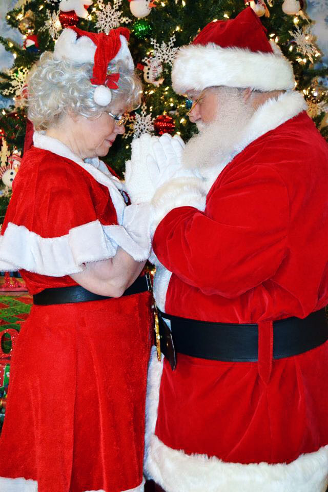 Santa and Mrs. Prayer