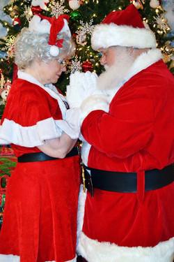 Santa and Mrs. Prayer
