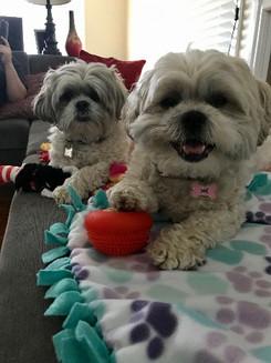 Mya and Harper