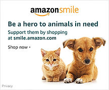 Amazon Smile with cat and dog