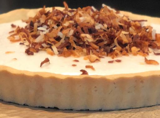 Vegan Coconut Cream Tart