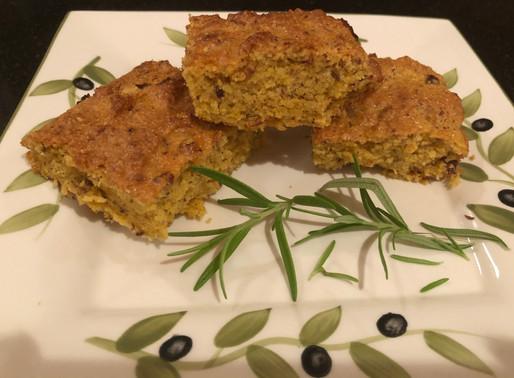 Vegan Herby Cornbread