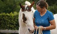 Aline Mellema paardencoach bij Horse2Heart in Heerde, coaching, therapie, pastoraat