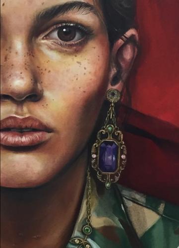 The Militant Woman (detail)