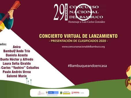 ESTE 10 DE SEPTIEMBRE, LANZAMIENTO DEL CONCURSO NACIONAL DEL BAMBUCO VIRTUAL