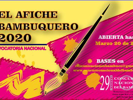 INVITACIÓN A DISEÑAR AFICHE BAMBUQUERO 2020