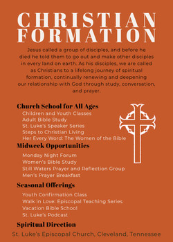 Christian Formation Ministries