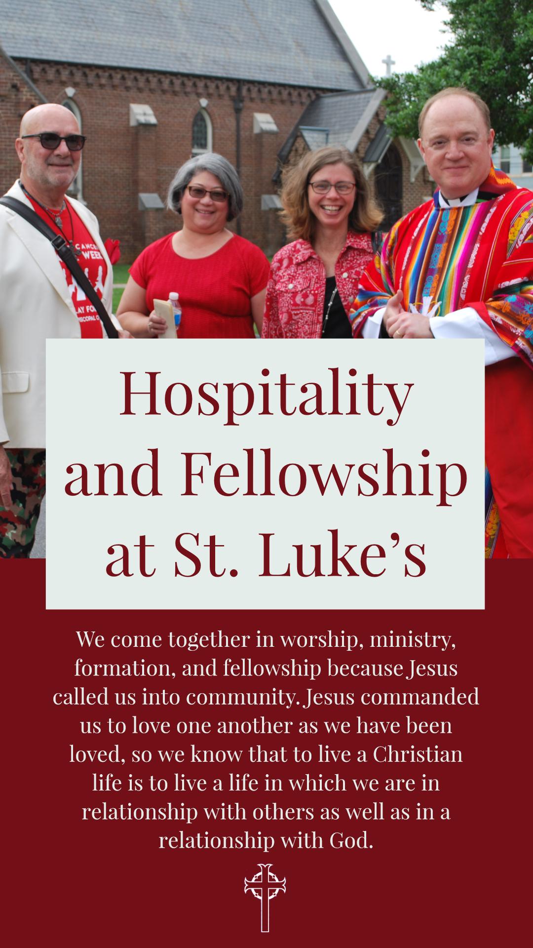 Hospitality & Fellowship Ministrie