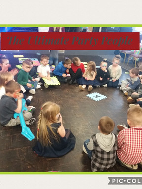 Toddler time party in Astley