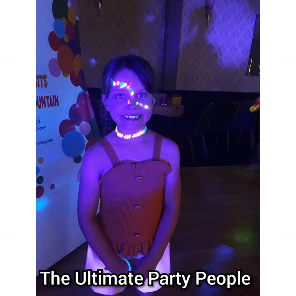 UV birthday parties in St Helens