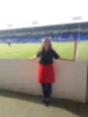 Entertaining at Warrington Wolves!