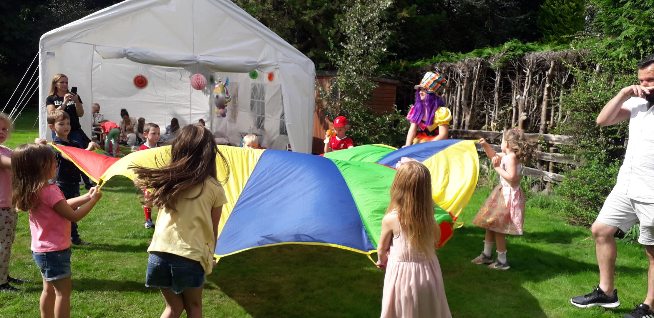 Summer garden entertainment Rainhill